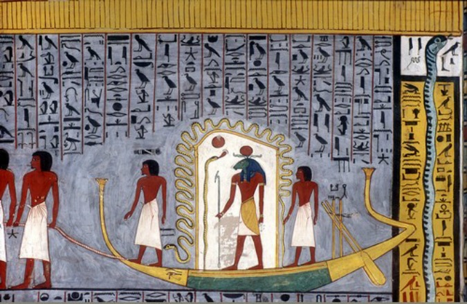 Egyptian-God-Ra-Barque-BookofGates